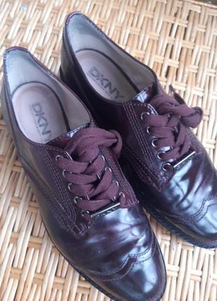 Туфли кожаные dkny