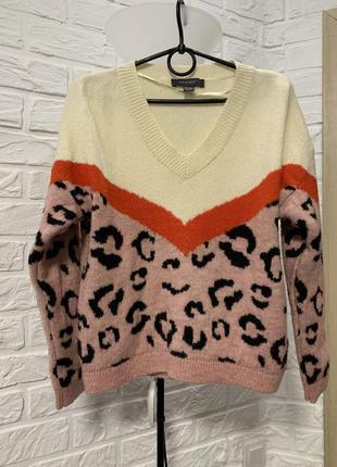 Кофта джемпер свитер разноцветный