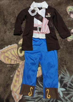 Карнавальный костюм пирата джек воробей на 5-6лет