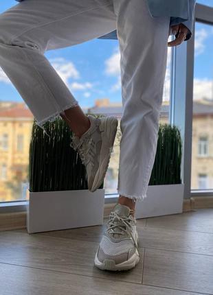 Женские кроссовки adidas ozweego bliss iridescent наложка