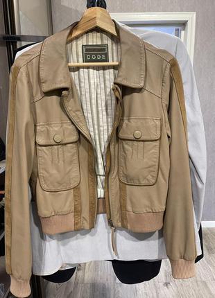 Кожаная куртка max mara sportmax