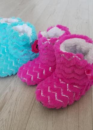 Тапочки ботинки на меху оригинал сша
