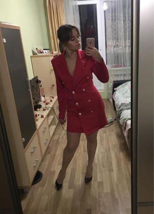 Платье-пиджак новое