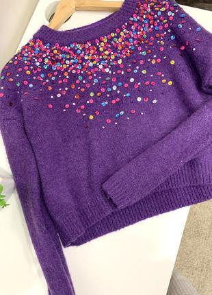 Очень стильный свитер
