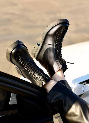 Ботинки женские деми флис