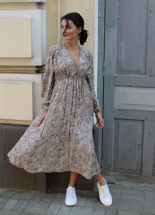 """Платье """"севилья"""" бежевый"""