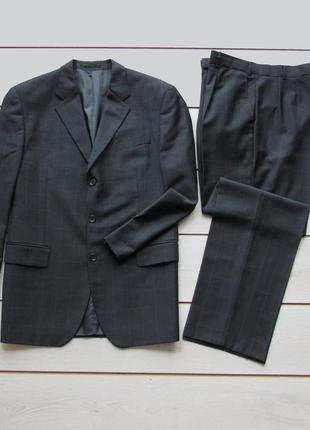 Деловой костюм с брюками в клетку от scott & taylor