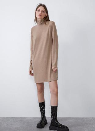Zara платье свитер