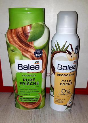Набор balea: шампунь 300 мл + дезодорант 200 мл