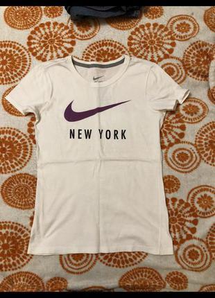 Футболка nike big logo new york
