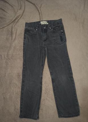 Штаны джинсы на мальчика 9-10 лет