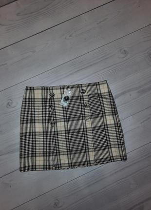 Тёплая юбка шерсть