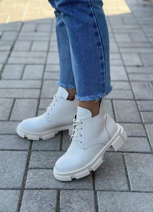 Ботинки buenos натуральная кожа