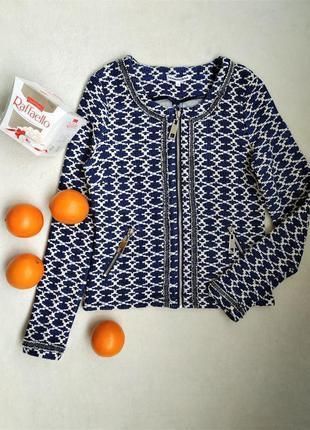 Стильный жаккардовый пиджачок от tramontana, размер s