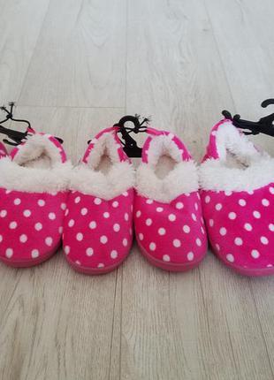 Тапочки disney для девочки   оригинал сша