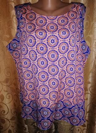 🌸🌸🌸легкая женская майка, блузка 22 р. marks&spencer🌸🌸🌸
