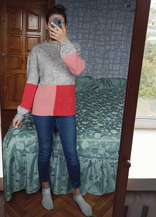 Удлинённый свитер с воротом next кофта