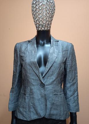 Max studio шикарный шелковый жакет,блейзер,пиджак