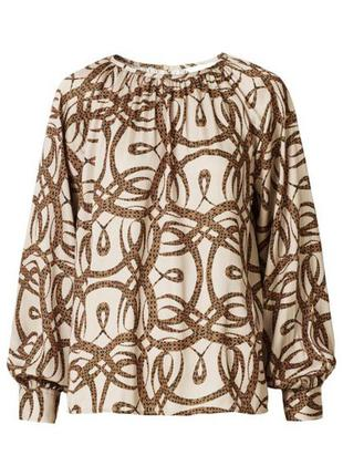 Richard allan x h&m   блуза /5814/
