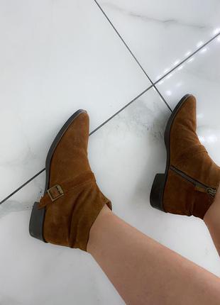 Zara ботинки 39 туфель