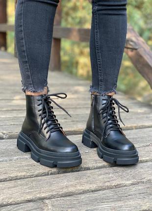 Ботинки женские! кожа