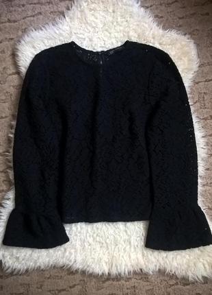 Красивая блуза zara / 70% хлопок