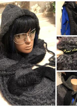 Хит сезона косынка капюшон шарф