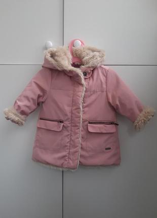 Куртка zara 18-24 2 года