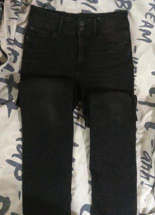 Классические джинсы высокая посадка