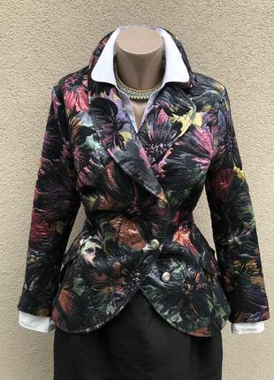 Жаккардовый жакет,пиджак,блейзер,германия,kamuflage.