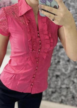 Нарядная блузка рубашка