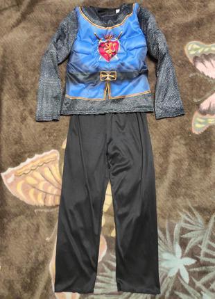 Карнавальный костюм рыцарь принц на 7-10лет