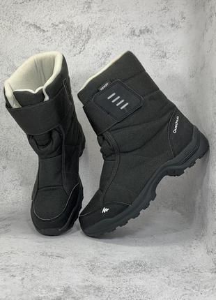Термо зимові черевики ботинки quechua