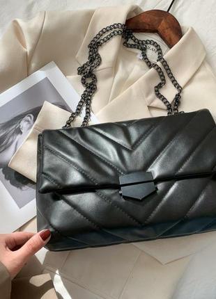 Трендовая сумка с цепочкой 2021
