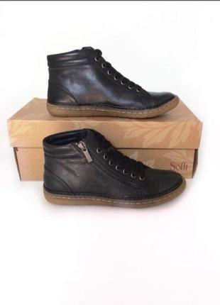 Кожаные ботинки sofft оригинал