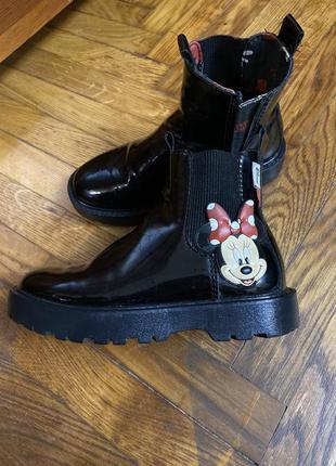 Ботинки zara для девочки