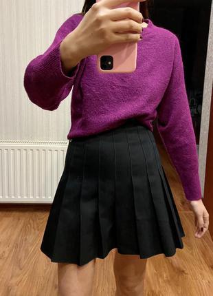 Трендовая юбка в складку