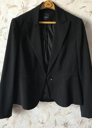 Піджак чорний, жакет esprit
