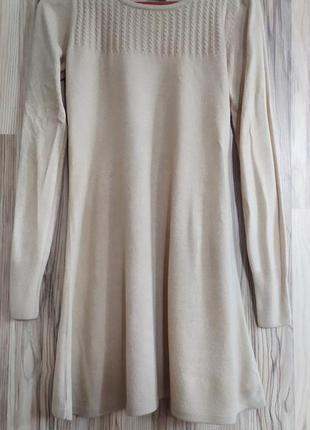 Базовое платье, осенее