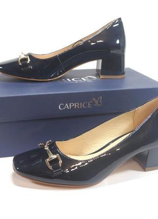 Туфли caprice premium. оригинал. германия. кожа. 36-40р