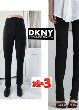 ❤1+1=3❤ donna karan женские плотные эластичные брюки