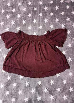 Блузка new look р.40, блуза, топ, футболка