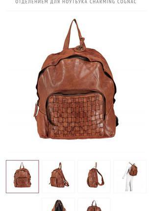Кожаный рюкзак harbor2nd peter pan  из коллекции cool-casual в стиле dr. martens, brunello cucinelli