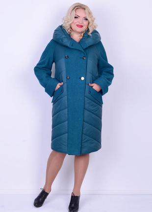 Куртка с варёной шерстью