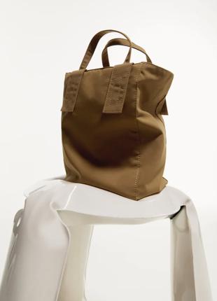 Тканевая сумка zara