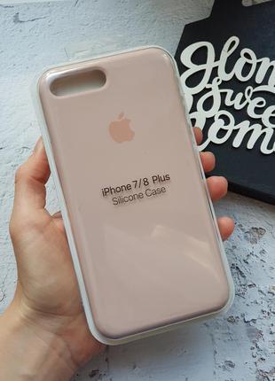 Чехол на iphone 7plus / 8plus silicone case