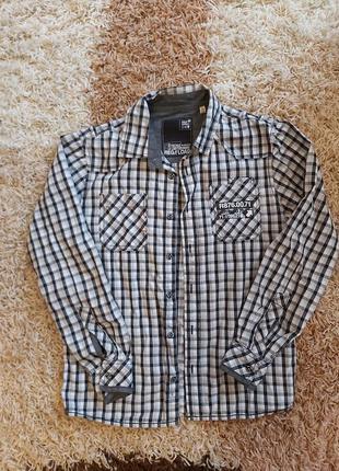 Рубашка на хлопчика р.146-152
