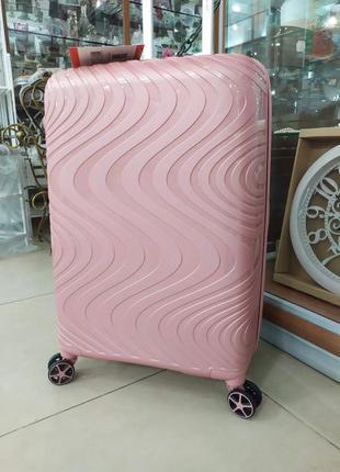 Большой чемодан, премиальное качество французского производителя,snowbsll