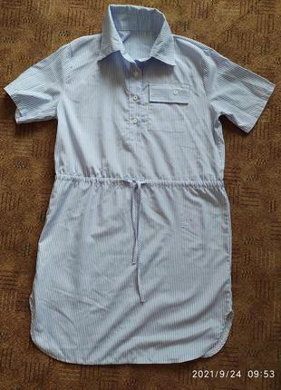 Крутое платье рубашка