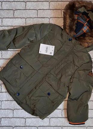 Зимняя курточка на мальчика c&a